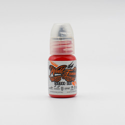 World Famous tattoo ink Jack The Ripper Red 15 ml
