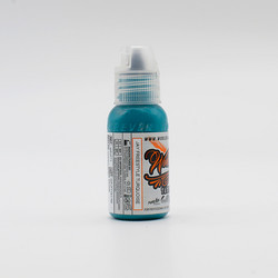 World Famous tattoo ink Turquoise ink, Jay Freestyle Watercolor Ink 30 ml
