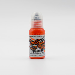 World Famous tattoo ink Orange ink, Jay Freestyle Watercolor Ink 30 ml