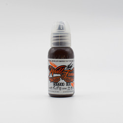 World Famous tattoo ink Dark Brown ink, Jay Freestyle Watercolor ink 30 ml