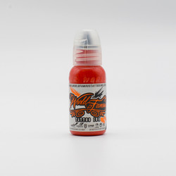 World Famous tattoo ink Inkfiend Red 30 ml