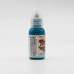 World Famous tattoo ink Galapagos Green 30 ml