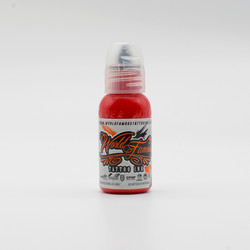 World Famous tattoo ink Demon Red 30 ml