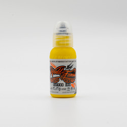 World Famous tattoo ink Canary Yellow 30 ml