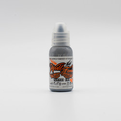World Famous tattoo ink Battleship Grey 30 ml