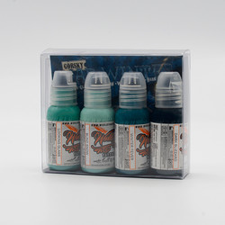World Famous tattoo ink Mad Winter set by D. Gorsky 30 ml
