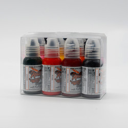 World Famous tattoo ink Ryan Smith Flower Set 30 ml