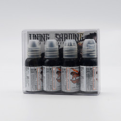 World Famous tattoo ink Lining and Shading Set 30 ml