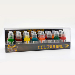 World Famous tattoo ink Oleg Shepelenko Color Realism Set 30 ml