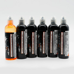 World Famous tattoo ink Five Stage Shading Set 120 ml