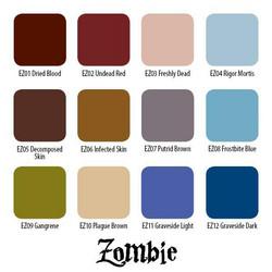 Zombie Color 12 Set, 30 ml