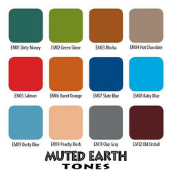 Muted Earth 12 Set, 30 ml