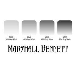 Marshall Bennett Gray Wash 4 Set, 30 ml