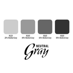 Neutral Gray 4 Set, 15 ml