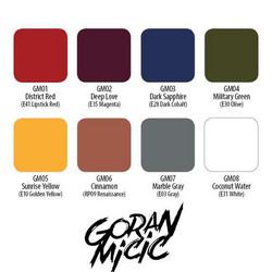 Goran Micic Artist's Palette 8 Set, 15 ml