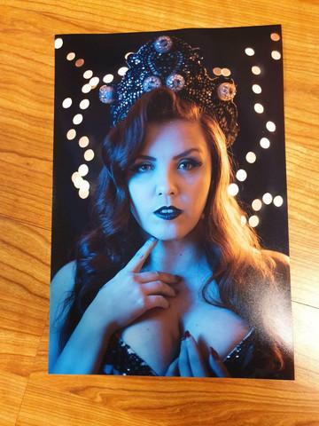 Olivia Rouge print 1