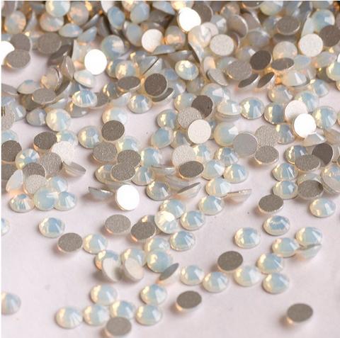 1 gross ss16 White Opal