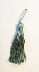 Mint tassel pair