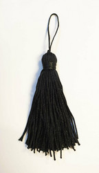 Black tassel pair