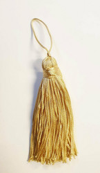 Gold tassel pair