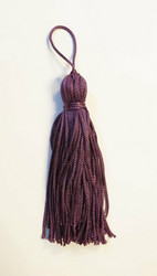 Purple tassel pair
