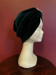 Velvet turban Green