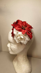 Christmas flower with roses