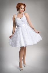 Rose wedding dress 38
