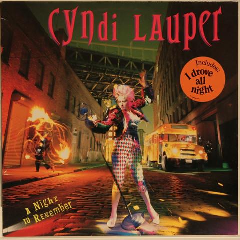 Lauper Cyndi: A Night To Remember