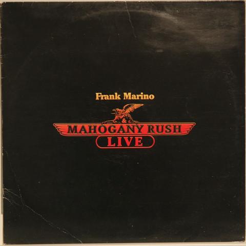 Marino Frank: Mahogany Rush - Live