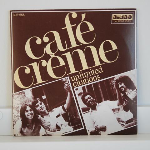 Café Crème: Unlimited Citation