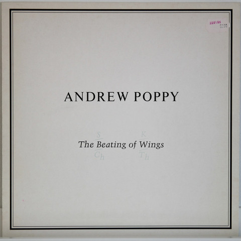 Poppy Andrew: The Beating Of The Wings