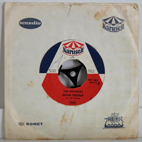 Spotnicks: Hava Nagila / Johnny Guitar