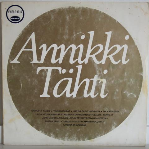 Tähti Annikki: Annikki Tähti