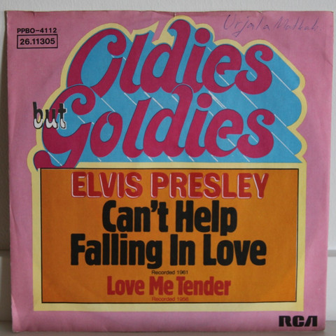 Presley Elvis: Can't Help Falling In Love / Love Me Tender