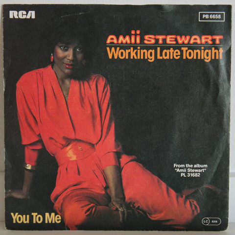 Stewart Amii: Working Late Tonight