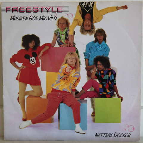 Freestyle: Musiken gör mig vild