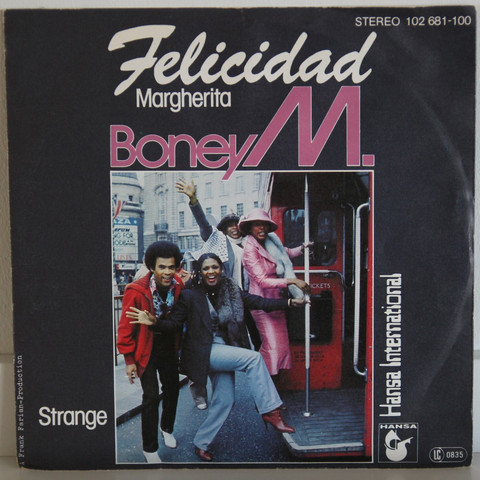 Boney M: Felicidad