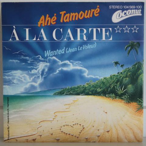 A La Carte: Ahe Tamoure