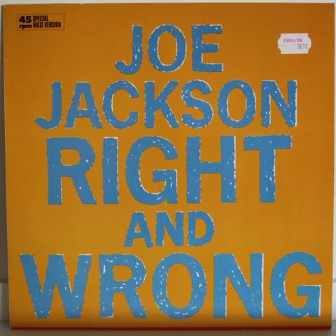 Jackson Joe: Right And Wrong