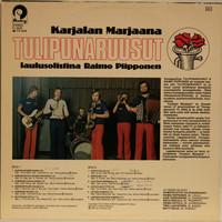 Tulipunaruusut laulusolistina Raimo Piipponen: Karjalan Marjaana