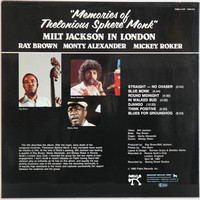 Jackson Milt: Milt Jackson In London