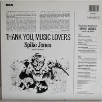 Spike Jones And His City Slickers: Thank You, Music Lovers!