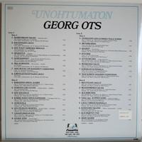 Ots Georg: Unohtumaton Georg Ots