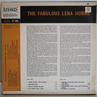 Horne Lena: The Fabulous Lena Horne