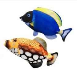 Motorisoitu kalalelu 27 cm, sininen