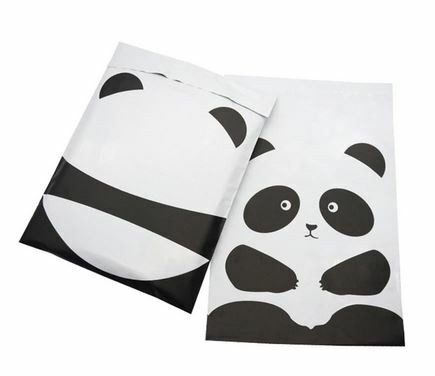 Lähetyspussi 25x33 cm, panda