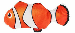 Motorisoitu kalalelu 27 cm, oranssi-valkea