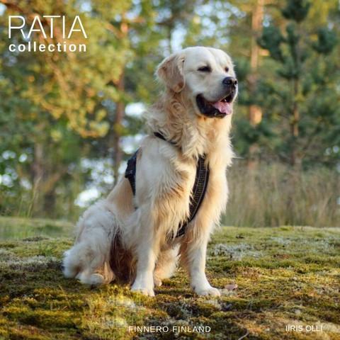 Finnero Ratia 8-shape valjas 50 cm, musta