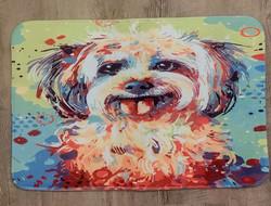 Matto, 40x60 cm, koira, värikäs